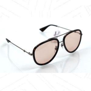 Gucci GG0062S Aviator Unisex Sunglasses